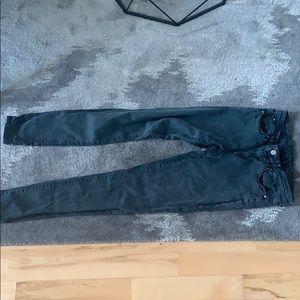 Club Monaco black / grey skinny jeans